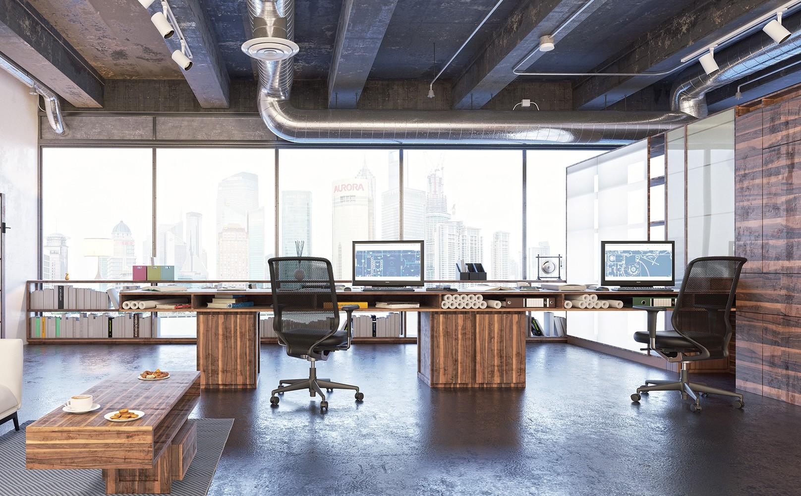 Γραφεία 95τμ με Επίπλωση