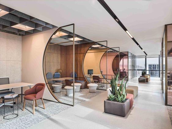 Art Deco Γραφείο 20 Θέσεων