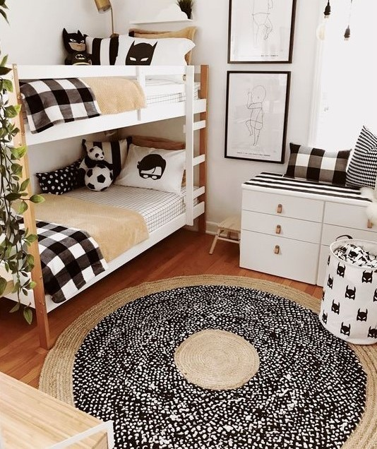 Wooden-Black Δωμάτιο...