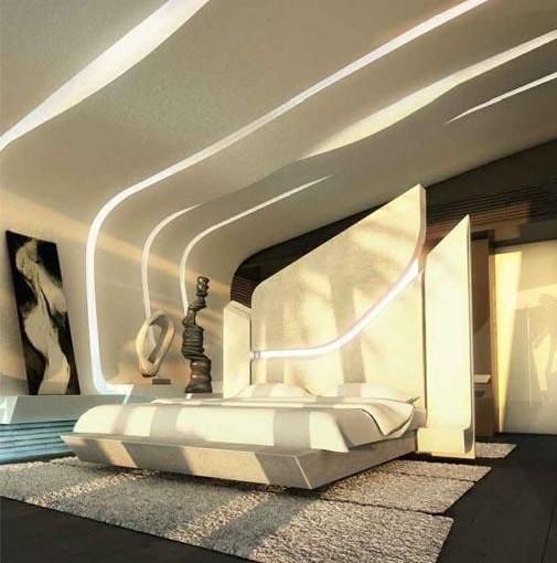 Futuristic Υπνοδωμάτιο 10 Τμ