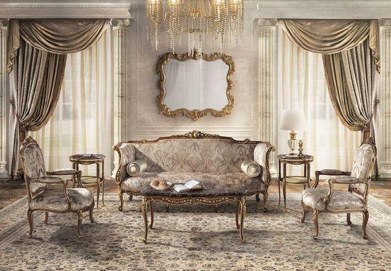 Baroque Σαλόνι 18 Τμ