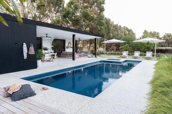 Minimal Pool Garden