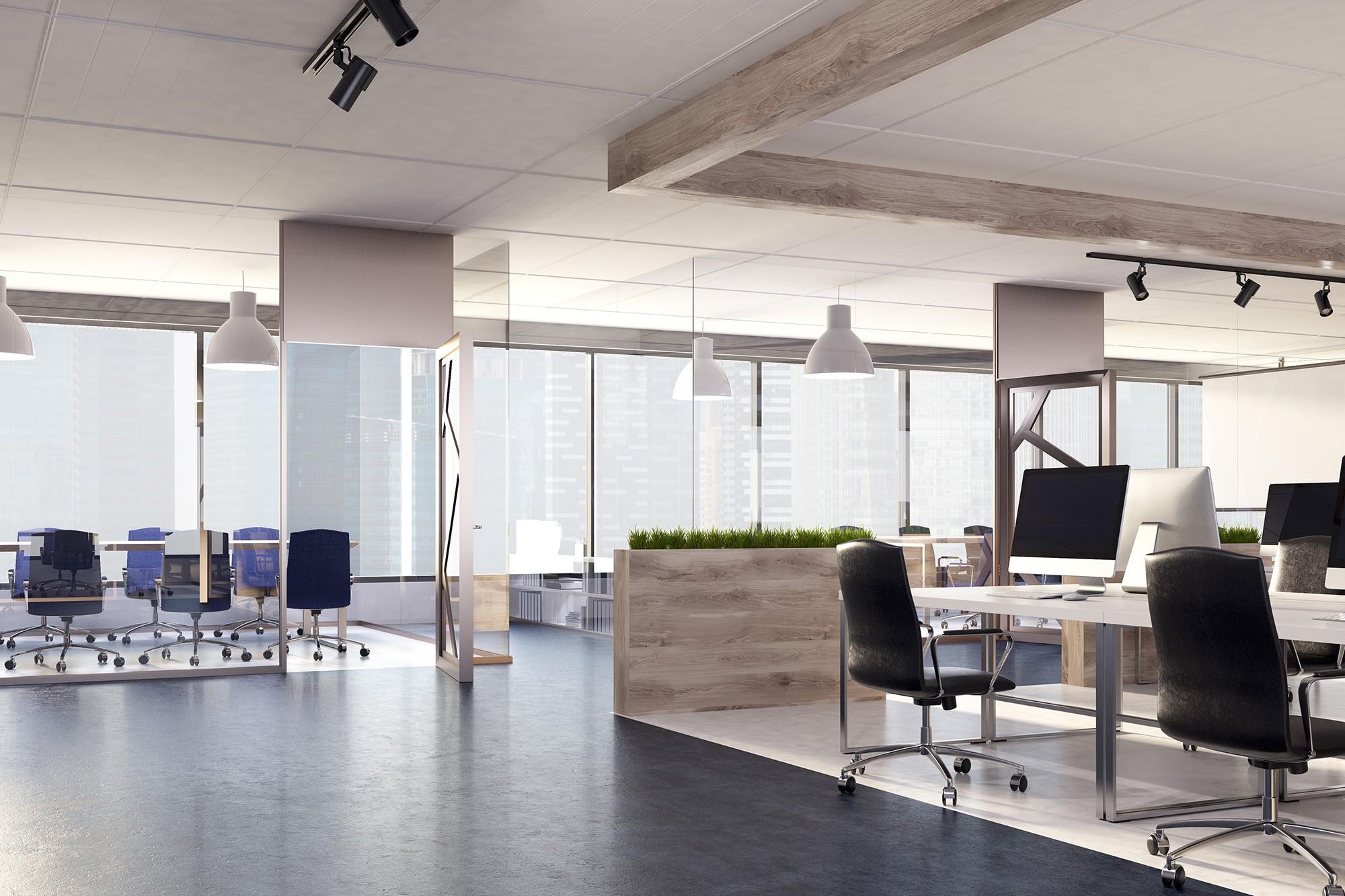 Minimal Γραφείο 30 Θέσεων