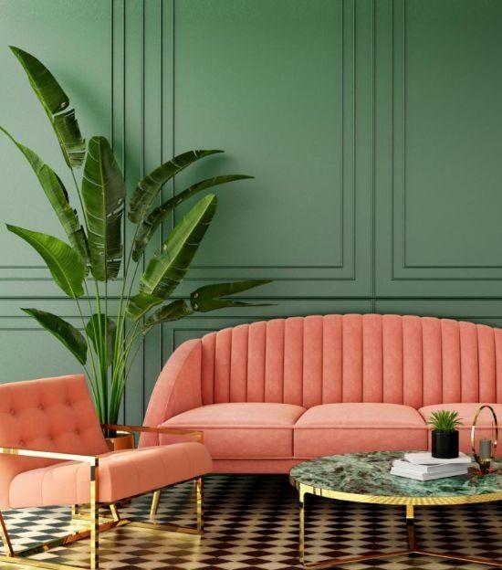 Art Deco Σαλόνι 12 τμ