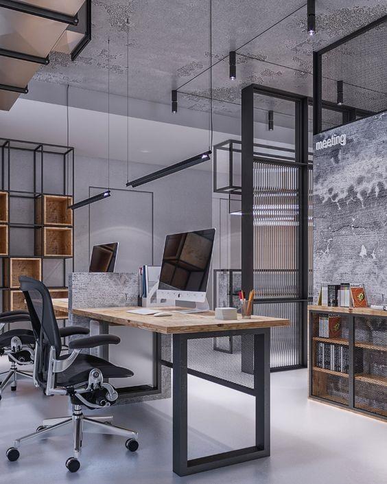 Industrial Γραφείο 10 Θέσεων